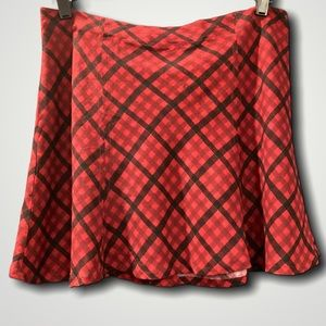 BP Flirty Plaid Mini Skirt